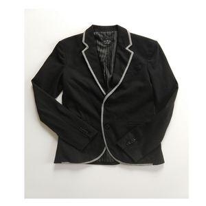 Zara Man Collection Suit Blazer Size S Black